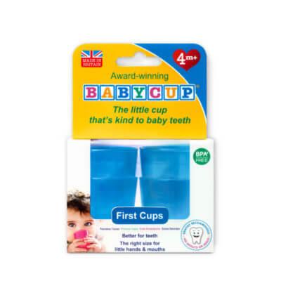 Kelímek pro batolata Babycup - modrý