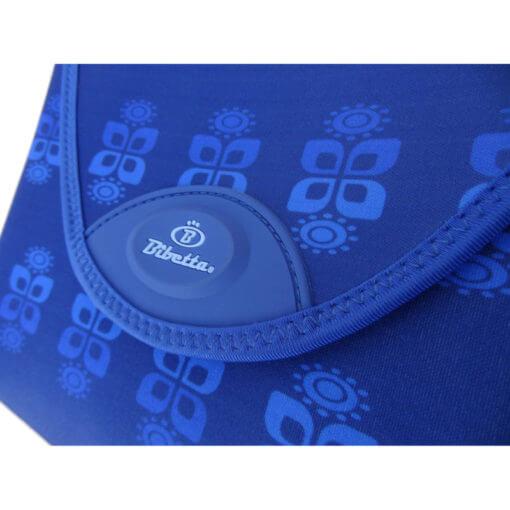 Neoprenová přebalovací podložka Bibetta - modré květiny