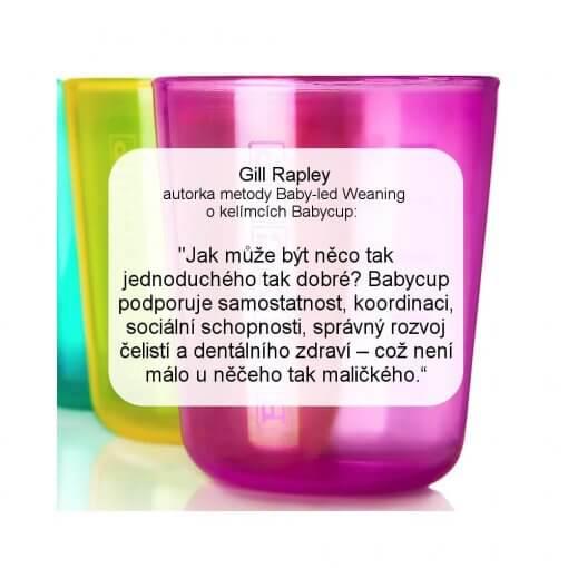 Babycup - barevný mix - reference Gill Rapley - novinka 2021