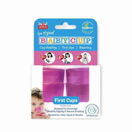 Kelímek Babycup - růžový