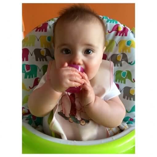 Kelímek Babycup - růžový - mimi