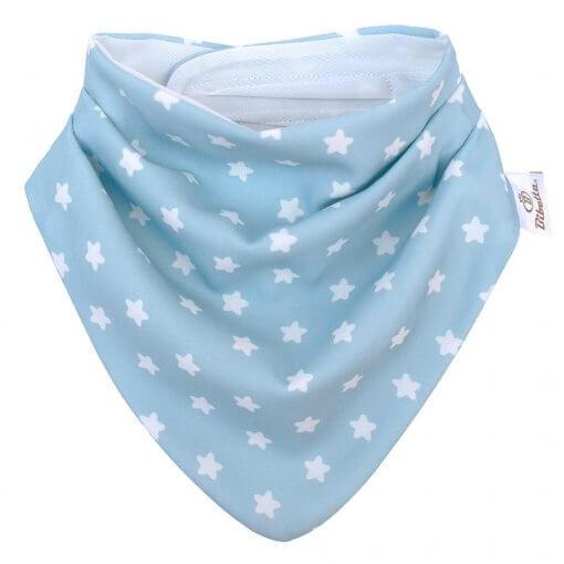 Bibetta slintáček modrý s hvězdami