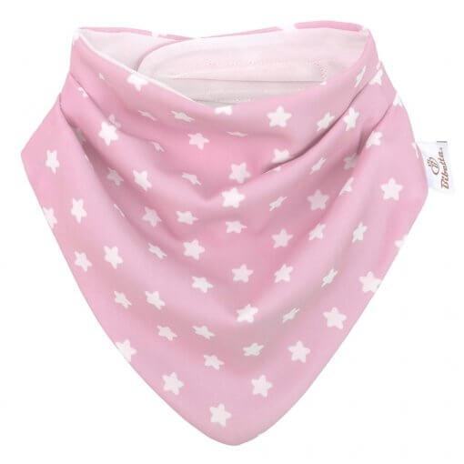Bibetta slintáček růžový s hvězdami