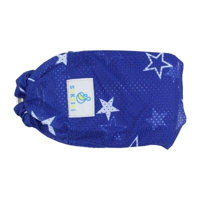 Šátek Sukkiri watter sling - modrá s hvězdami